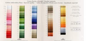 Complete set of Floche (91 colors)