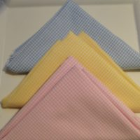Gingham FAT Fat Quarters - Baby