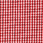 """Berry (Red) Gingham - 1/16"""""""