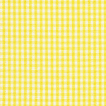 Yellow Gingham - 1/16""