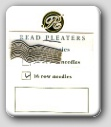 Reed Needles - for 16 Row Pleaters ONLY