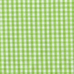 Bright Lime Gingham - 1/16""